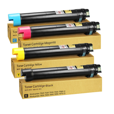 006R01509 006R01510 006R01511 006R01512 Xerox Workcentre 7525 7535 7545 7556 metered toner cartridge